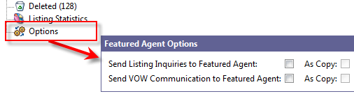 Featured Agent Communication Settings