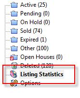 Listing Statistics Entry Point